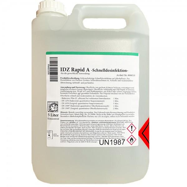 Wagner Oberflächendesinfektion IDZ Rapid A 5L Kanister