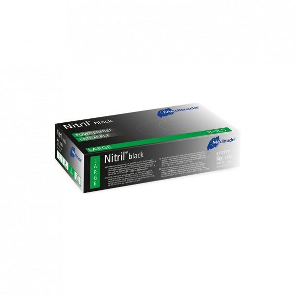 NITRIL® BLACK Untersuchungshandschuhe 100er Box Größe L