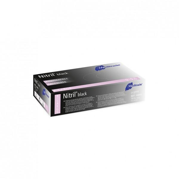 NITRIL® BLACK Untersuchungshandschuhe 100er Box Größe XL