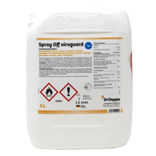 Dr. Deppe Spray Off Viruguard 5L Kanister Oberflächendesinfektion